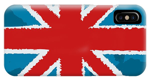Flag Of Great Britain Phone Case by Yuyula