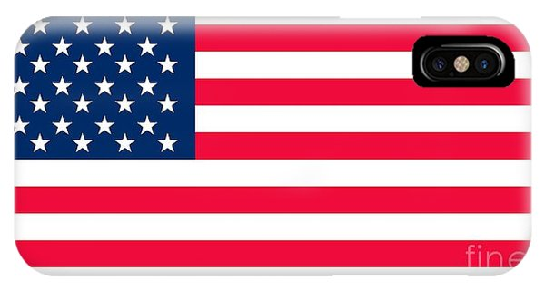 United States iPhone Case - Flag Of The United States Of America by Anonymous