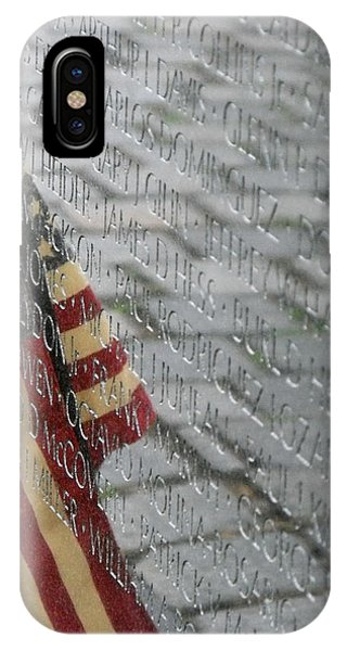 Flag On The Wall IPhone Case