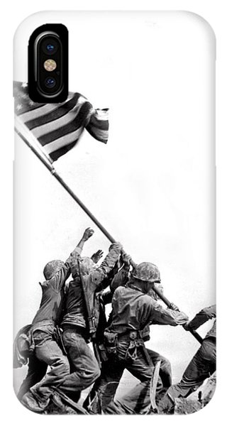 Flag Raising At Iwo Jima IPhone Case