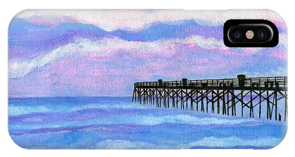 Flagler Beach Pier IPhone Case