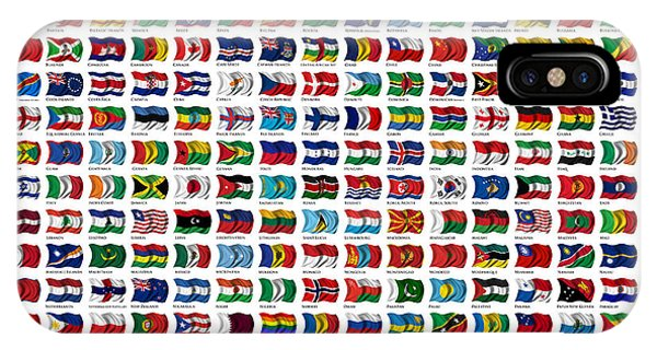 Flags Of The World IPhone Case