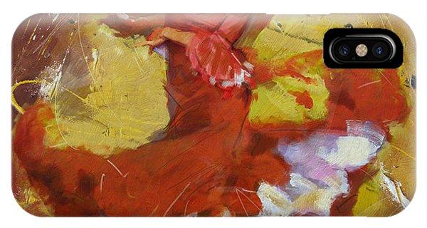 Tango iPhone Case - Flamenco 44 by Maryam Mughal