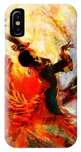 Flamenco Dancer 021 IPhone Case
