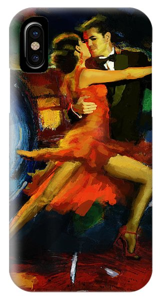 Flamenco Dancer 029 IPhone Case