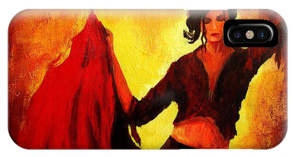 Flamenco Dancer IPhone Case