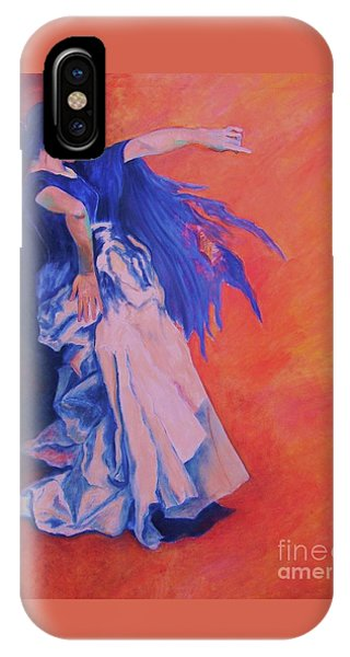Flamenco-john Singer-sargent IPhone Case