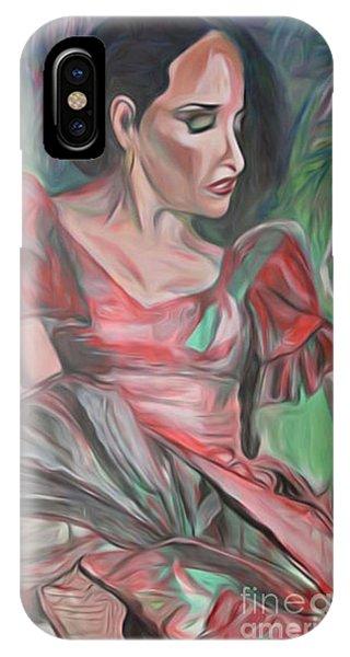 Flamenco Solo IPhone Case