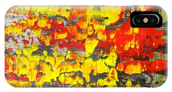 Flames Of Abstract 5 IPhone Case