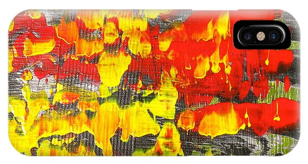 Flames Of Abstract 6 IPhone Case