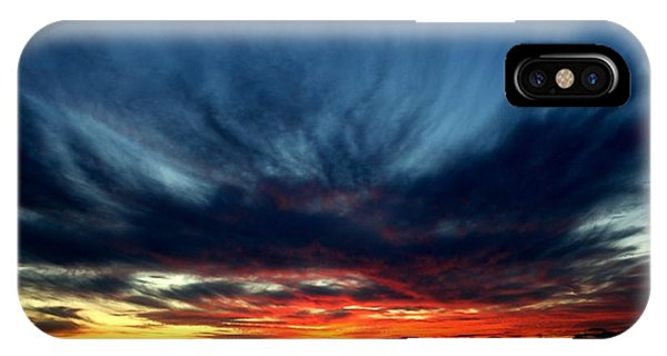 Flaming Hues IPhone Case