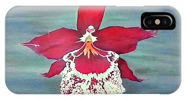 Flaming Orchid IPhone Case