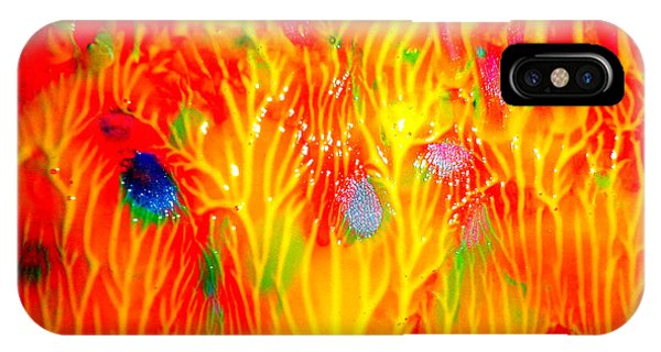 Flaming Textures IPhone Case