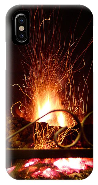 Flaming Wizard IPhone Case