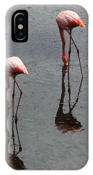 Flamingo Ballet IPhone Case