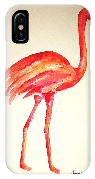Flamingo Strut IPhone Case