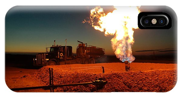 Flare And A Vacuum Truck IPhone Case