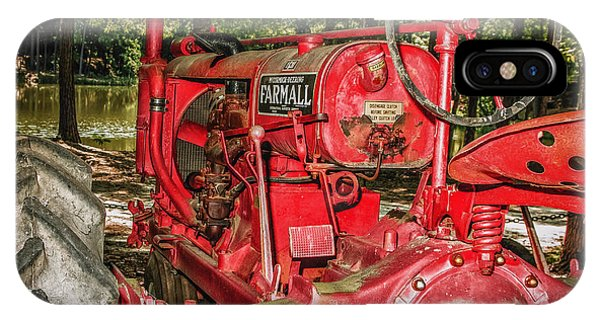 Flash On Farmall IPhone Case