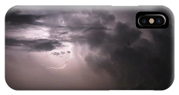 Flashes Of Lightening IPhone Case