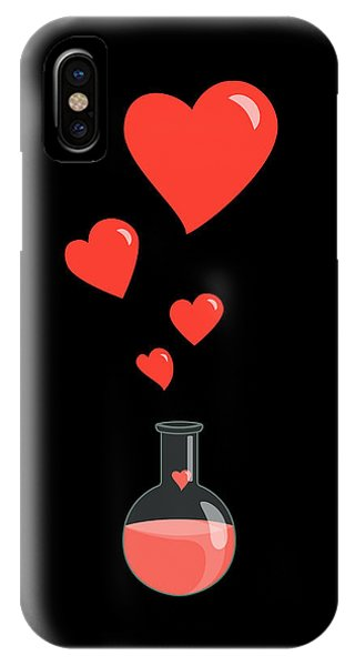 Valentines Day iPhone Case - Flask Of Hearts by Boriana Giormova