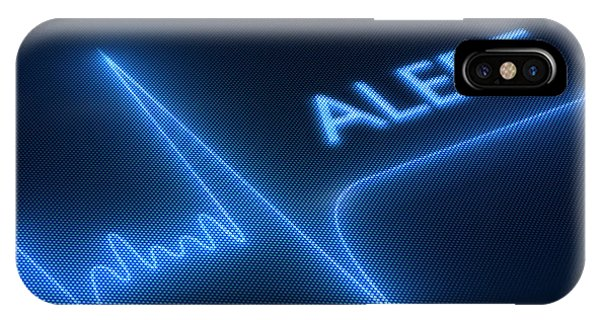 Electronic iPhone Case - Heart Failure / Health by Johan Swanepoel
