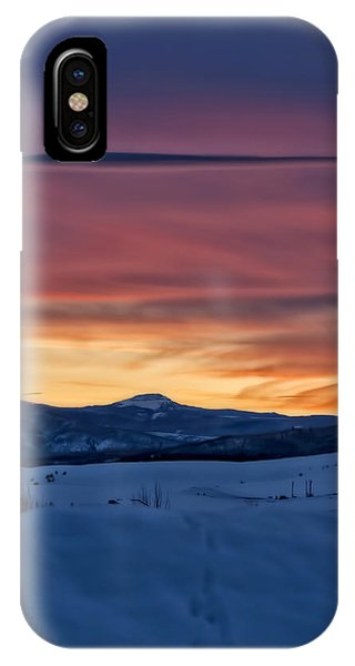 Flat Tops For Steamboat Springs IPhone Case