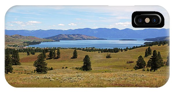 Flathead Lake View IPhone Case