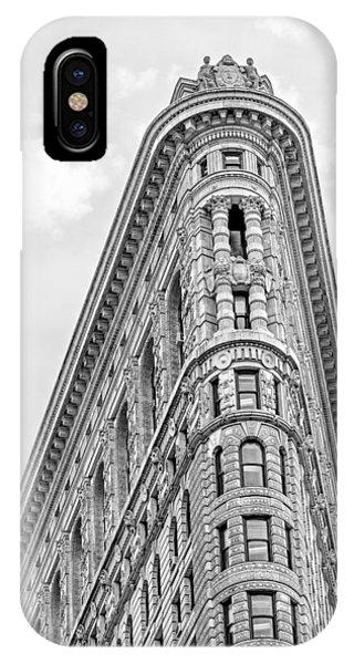 Flatiron Building Bw IPhone Case