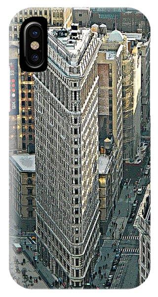 Flatiron Building Nyc 1 IPhone Case