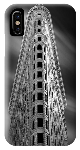 Building iPhone Case - Flatiron Nights by Az Jackson