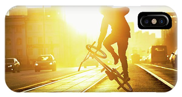 Track iPhone Case - Flatland by Evgeny Evtushenko