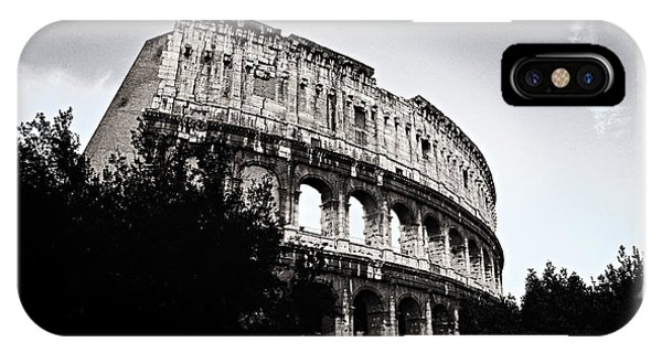 IPhone Case featuring the photograph Flavian Amphitheater by Joe Winkler