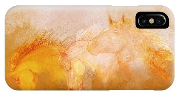 Flaxen Manes IPhone Case