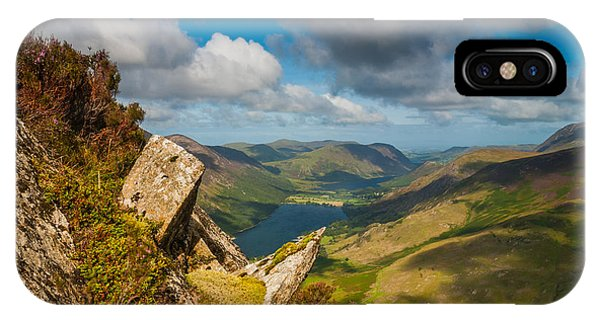 Fleetwith Pike Lake District Phone Case by David Ross