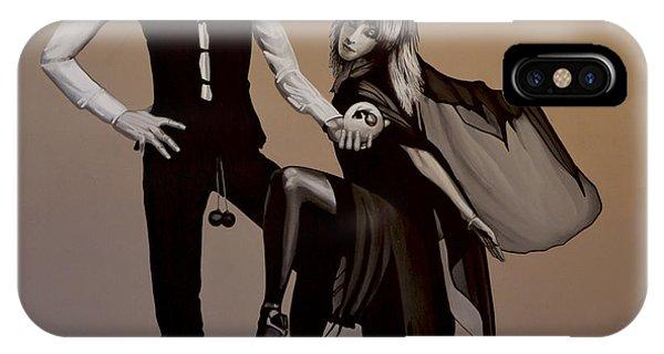 Concert iPhone Case - Fleetwood Mac Rumours by Paul Meijering