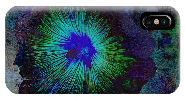 Fleur De Bleu De Cru IPhone Case