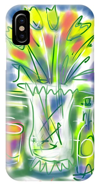 Fleur Noel IPhone Case