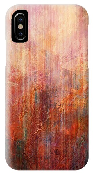 Flight Home - Abstract Art IPhone Case
