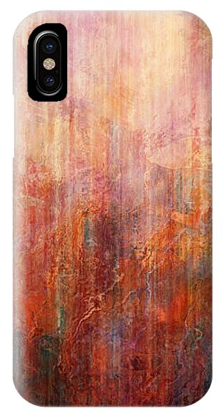 IPhone Case featuring the painting Flight Home - Abstract Art by Jaison Cianelli