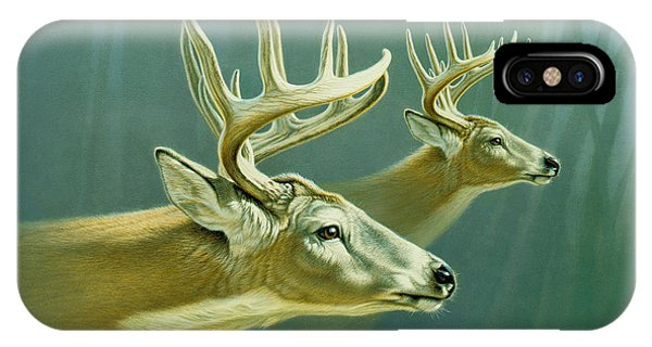 Buck iPhone Case - Flight by Paul Krapf