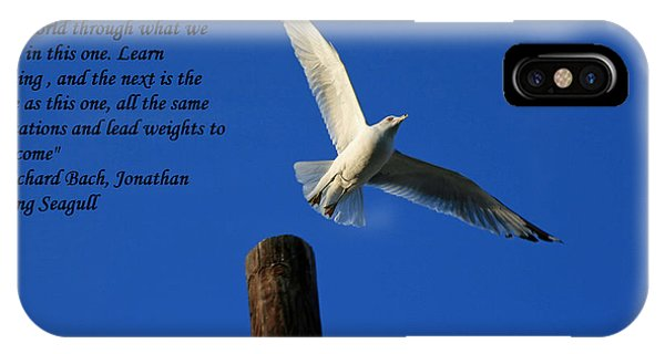 Flight To Freedom IPhone Case