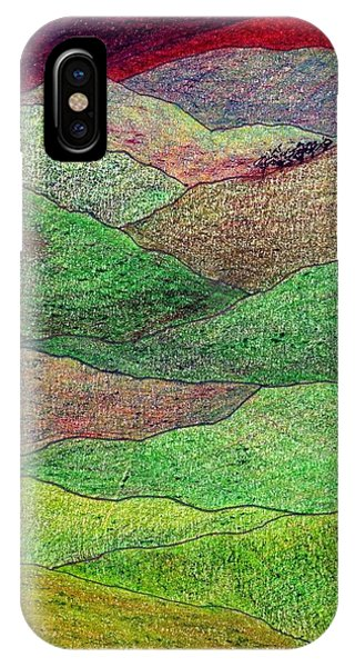 Flint Hills Fall IPhone Case