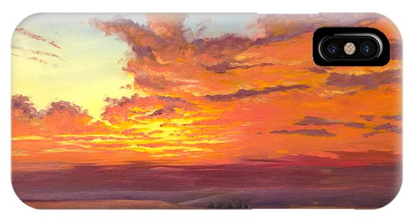 Flint Hills Magic IPhone Case