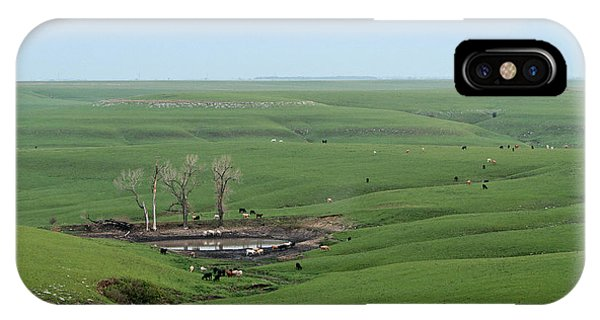 Flint Hills Ranch IPhone Case