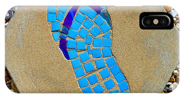 Square Flip Flop Stepping Stone Two IPhone Case