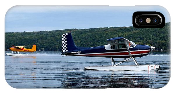 Float Planes On Keuka IPhone Case