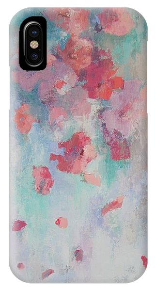 Floating Flowers Painting IPhone Case
