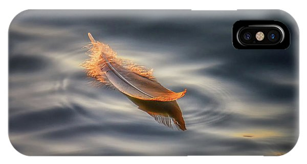 Soft iPhone Case - Floating by Larry Deng