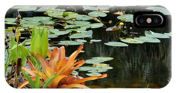 Floating Lily Pond IPhone Case