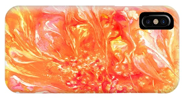 Floating Petals Phone Case by Rosie Brown